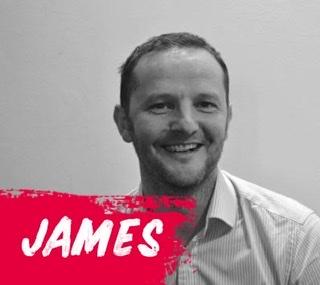 Congratulations to James